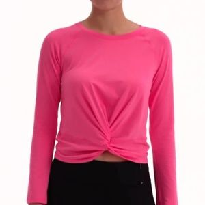 CALIA by Carrie Underwood Knot Front Top NWT